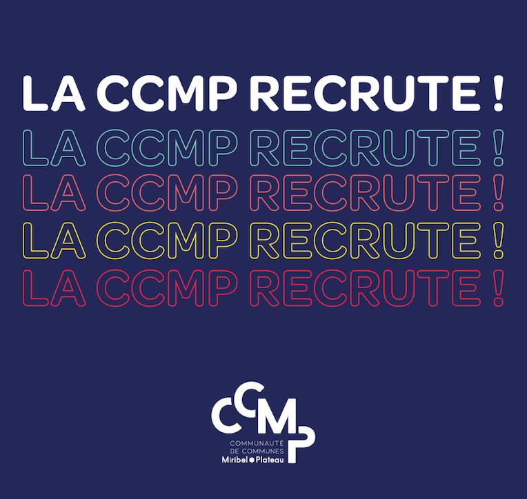 La CCMP recrute!