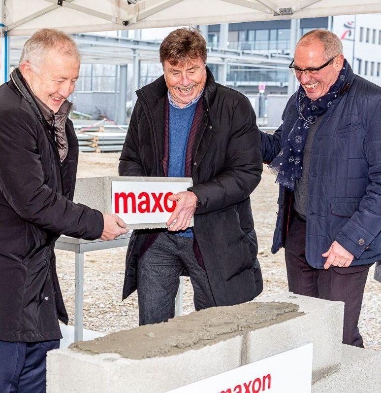 La CCMP accueille l'entreprise Maxon à Beynost