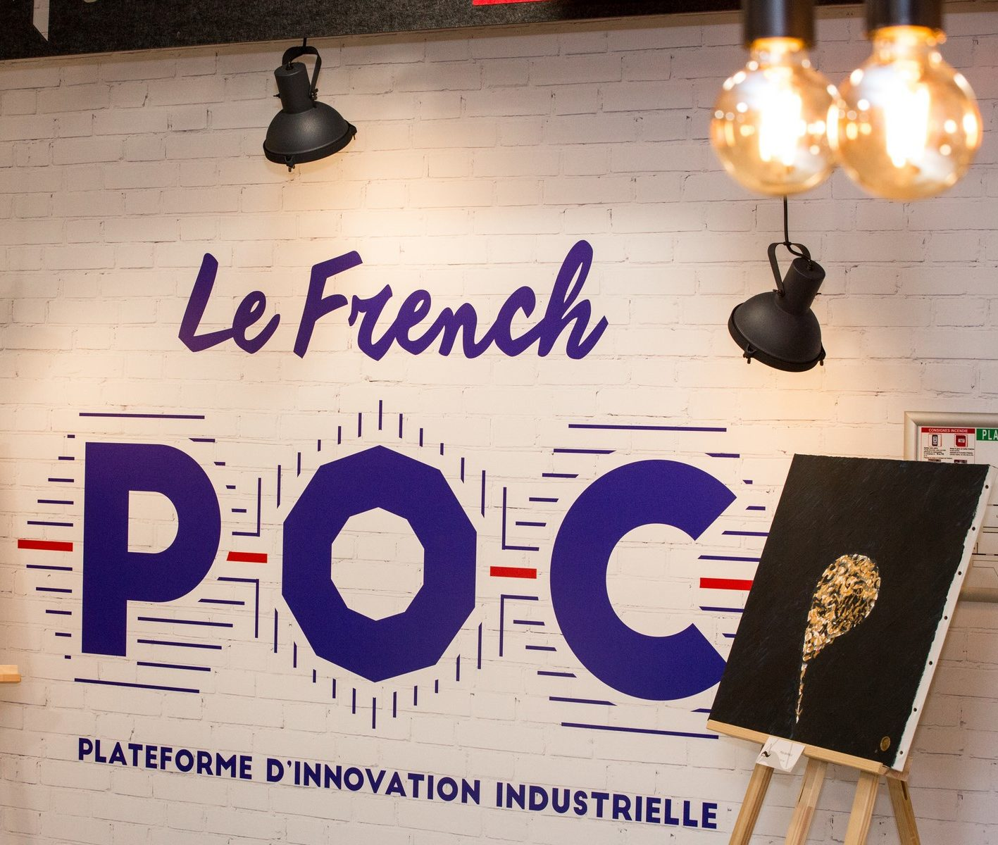 Inauguration du French POC